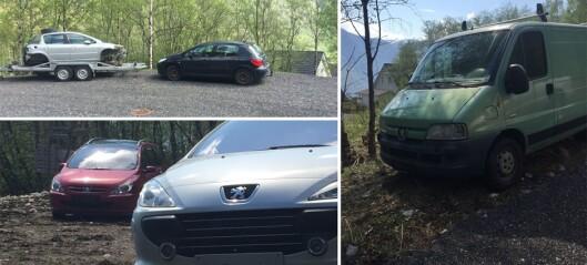 Nabo reagerer på bilvrak i nærområdet