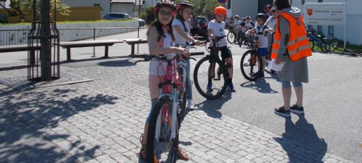 Farnes skule arrangerte trafikkdag: – viktig for å førebyggja trafikkulukker