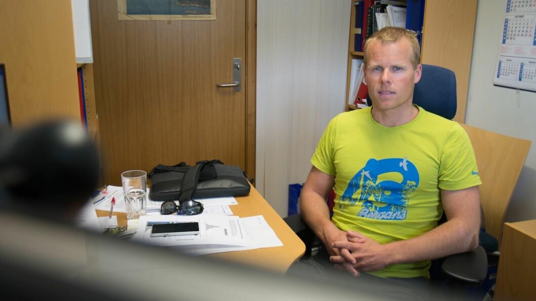 STORE PLANAR: Eivind Aadland er professor ved Høgskulen på Vestlandet i Sogndal. Nyleg søkte han forskingsrådet om 40 millionar kroner i støtte til ein studie retta mot å få meir fysisk aktivitet i barnehagane.