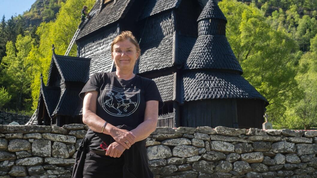 GLER SEG: Tanna Gjeraker trur planane deira for årets sesong vil slå godt an hos norske turistar.