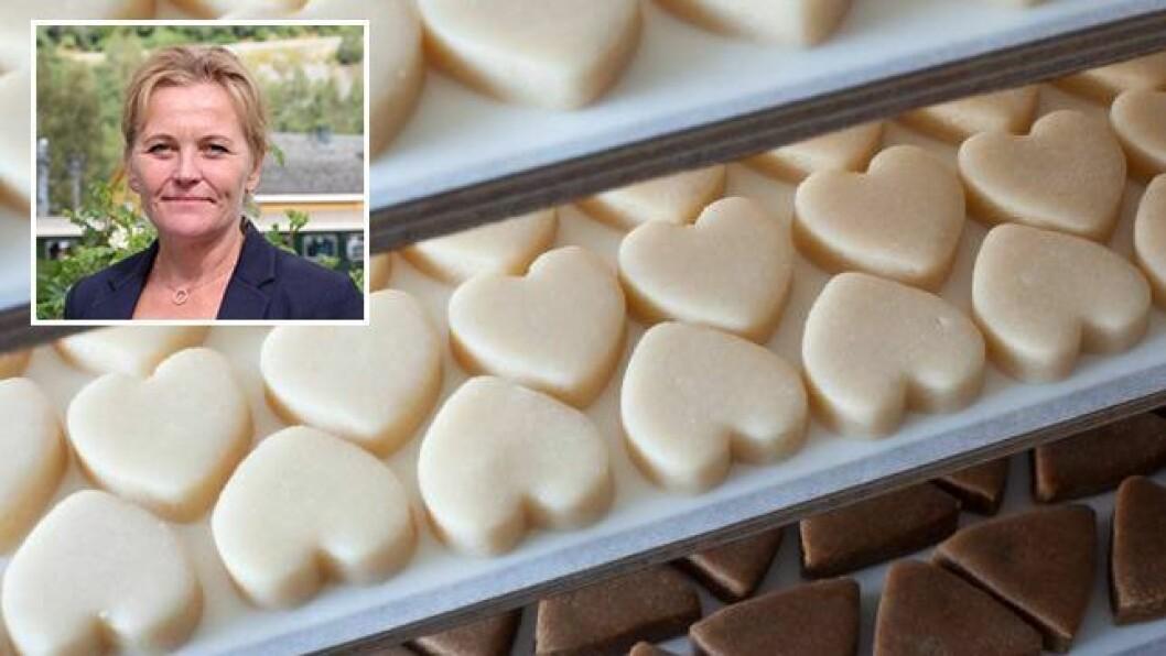 NY SATSING: Solrun Hjelleflat i Flåm AS seier dei startar opp sjokoladeproduksjonen som eit prøveprosjekt. Suksessen vil avgjera vegen vidare.
