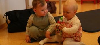 Nybakte mødre skryt av sosialt tilbod: Sjå bileta frå baby-treff i Lærdal