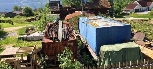 Skrot set nok ein gong sinna i kok i Seimsdalen – grunneigar legg seg flat