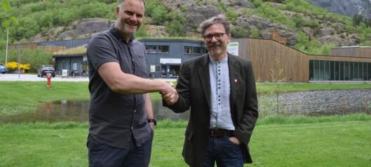 Reiselivsgiganten i Flåm vil samarbeida med Lærdal om villakssenteret
