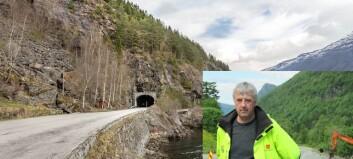 Skal utbetra tre tunnelar i Luster: – Me held på ut året