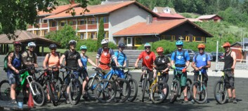 Verdsnyheit i Sogndal - desse blir blant dei fyrste terrengsykkelguidane i landet