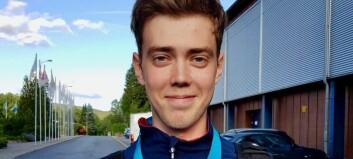 Skyttaren frå Lærdal tok medalje i verdscupen på første forsøk