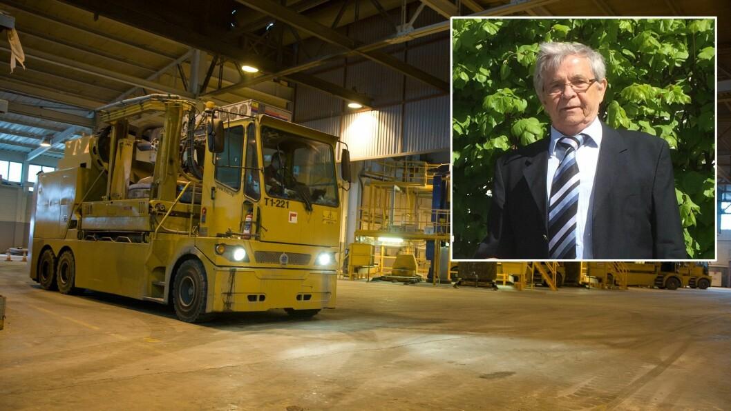 MEININGAR: Gudbrand Ingolfsen er bekymra for mellom anna den nye nettleiga til den kraftedlande industrien.