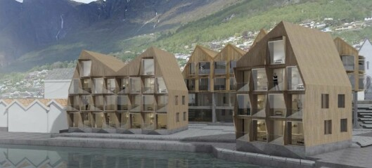 Spanande hotellplanar i Aurland