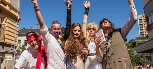 Stilte med ein fargefest av ei flåte under Pride: – Paraden trengde ei MGP-flåte