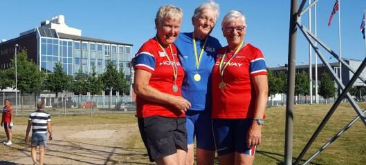 Sogndølen hanka inn medaljar på nordisk veteranmeisterskap i friidrett