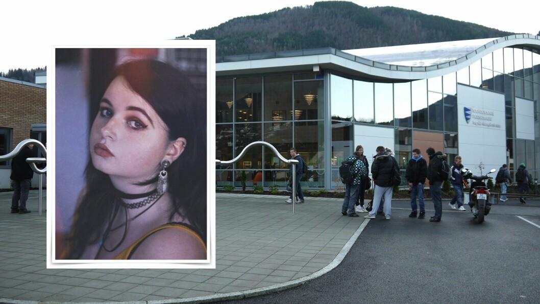 SNART FOTOGRAF: Mariel Hov Molland går ei målretta framtid som fotograf i møte etter tre yrkesretta år på medielinja i Sogndal.