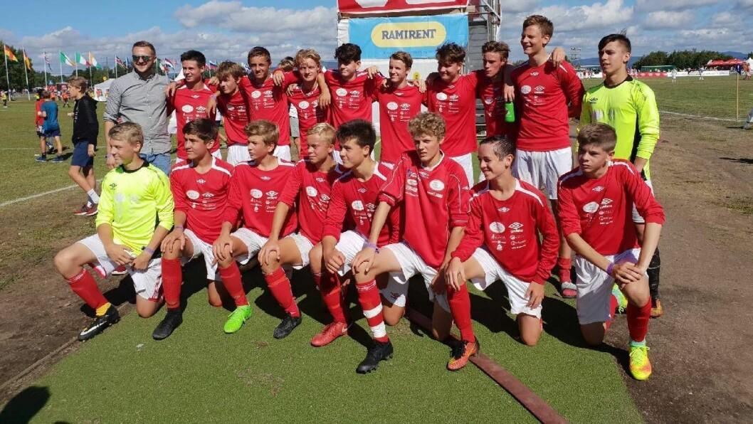 SIGER: Lærdal G16 skal spela 1/16-delsfinale i B-sluttspelet etter dagens 3-1 siger mot Langevåg IL 2.