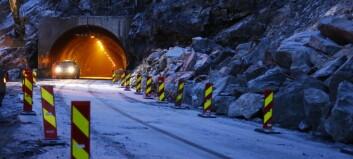 Startar rassikring mellom Årdalstangen og Øvre Årdal