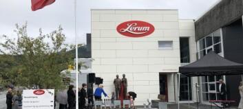 Nye fabrikken til Lerum offisielt opna: – No er alt samla under eit tak