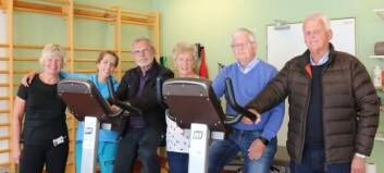 Aurlending samla LHL-laga for å gje gåve til Lærdal sjukehus, etter han sjølv deltok på hjarterehabiliteringa