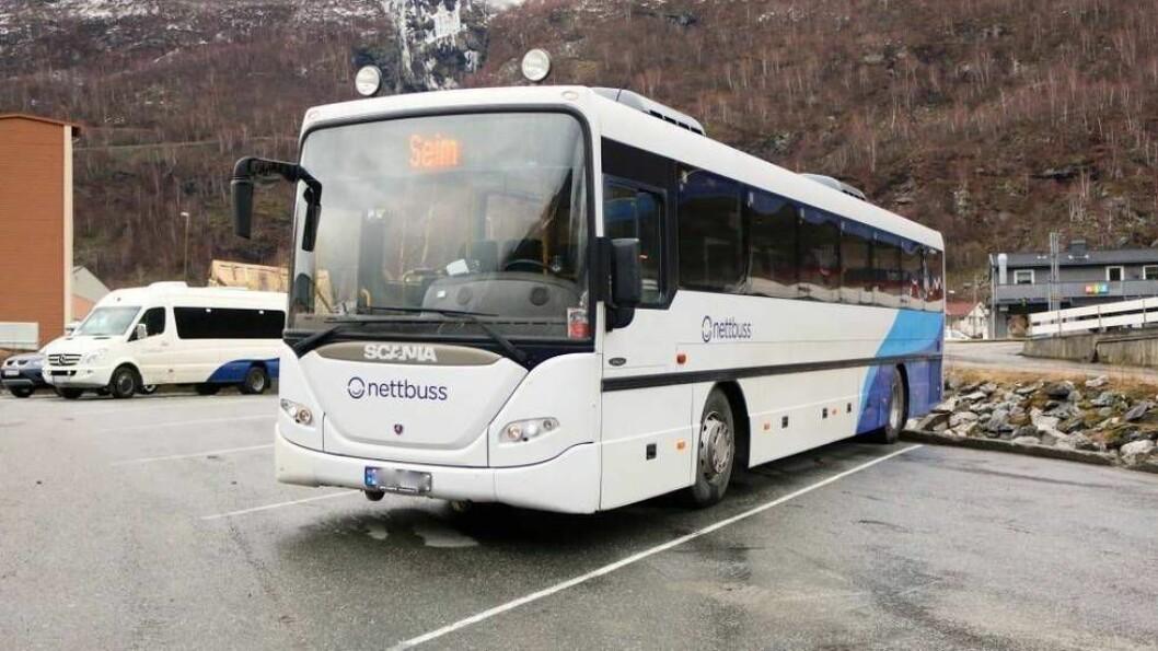 STREIKEN ER OVER: Klokka 12:00 går bussane som normalt.