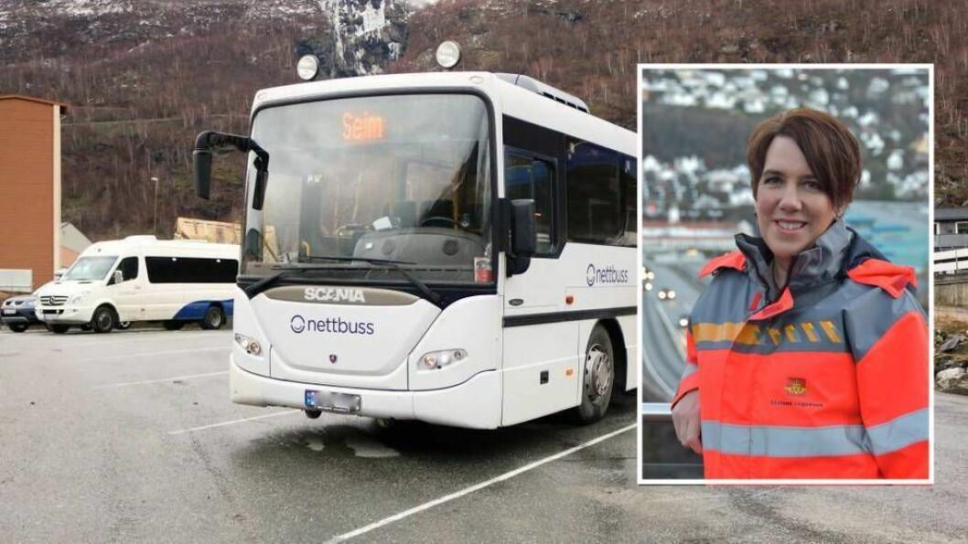 BUSSKONTROLL:  Belte i buss kampanjen gjekk av stabelen førre veke. Totalt kontrollerte Vegvesenet 820 passasjerar i fylket, der 30 av dei fekk bot for manglande beltebruk.