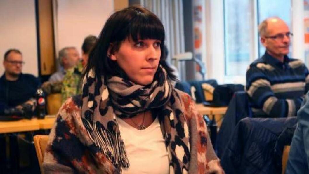 TILBAKE: Trude Klingenberg er tilbake i politikken, denne gong for Høgre. I bakgrunnen skimtar me far Knut Arne Klingenberg, som no blir partikollega.