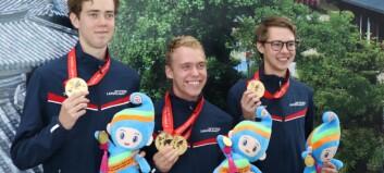 Talentfull Lærdøl tok VM-gull: – Eg synst ikkje eg skaut så bra sjølv