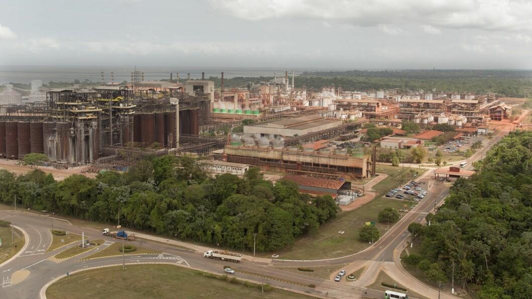 NEDERLAG: Miljømyndigheitene gav klarsignal i oktober, no ynskjer den føderale domstolen å halde fram med Hydro sitt produksjonsforbod i Brasil.