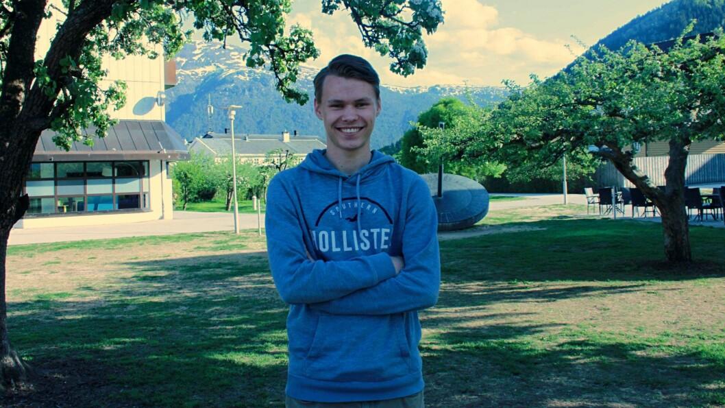 ENGASJERT: Egil Natvik Vestrheim er oppteken av at bortebuarstipendet til ungdom skal bli så bra som mogleg.