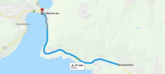 Vegvesenet startar planlegginga av tunnel mellom Kaupanger og Sogndal