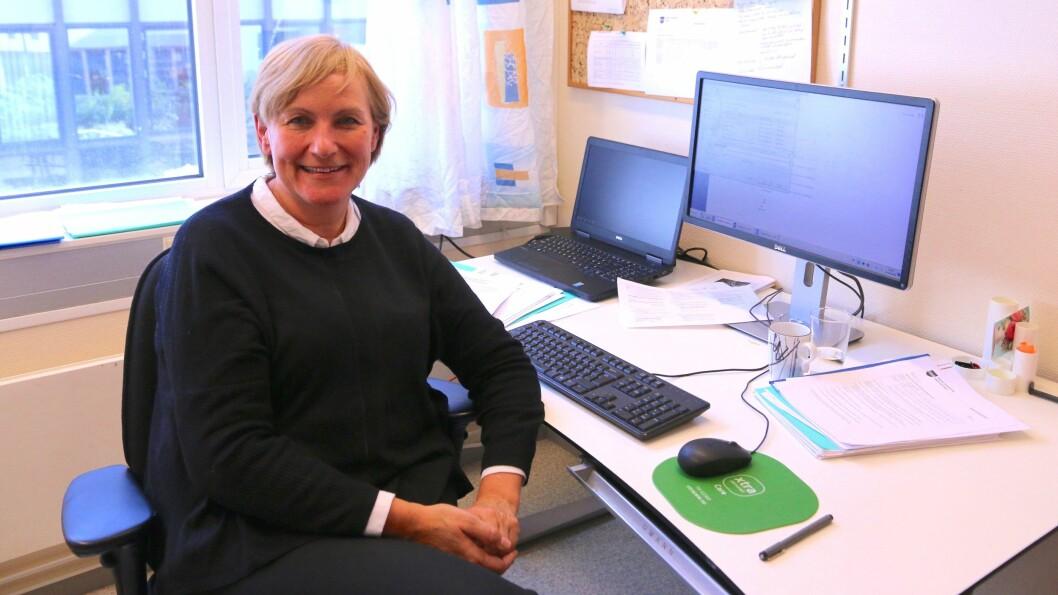 NY RÅDMANN: Gunn Lerøy skipar det interkommunale samarbeidet mellom Årdal, Lærdal og Aurland. 1.januar 2019 startar ho i ny jobb som rådmann i Hyllestad kommune.
