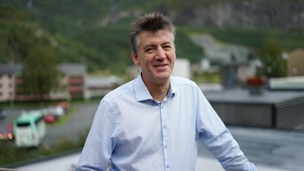 NYTT SELSKAP: Frank Øvstetun er styreleiar til Cural, eitt av to nystarta selskap i Årdal den siste veka.
