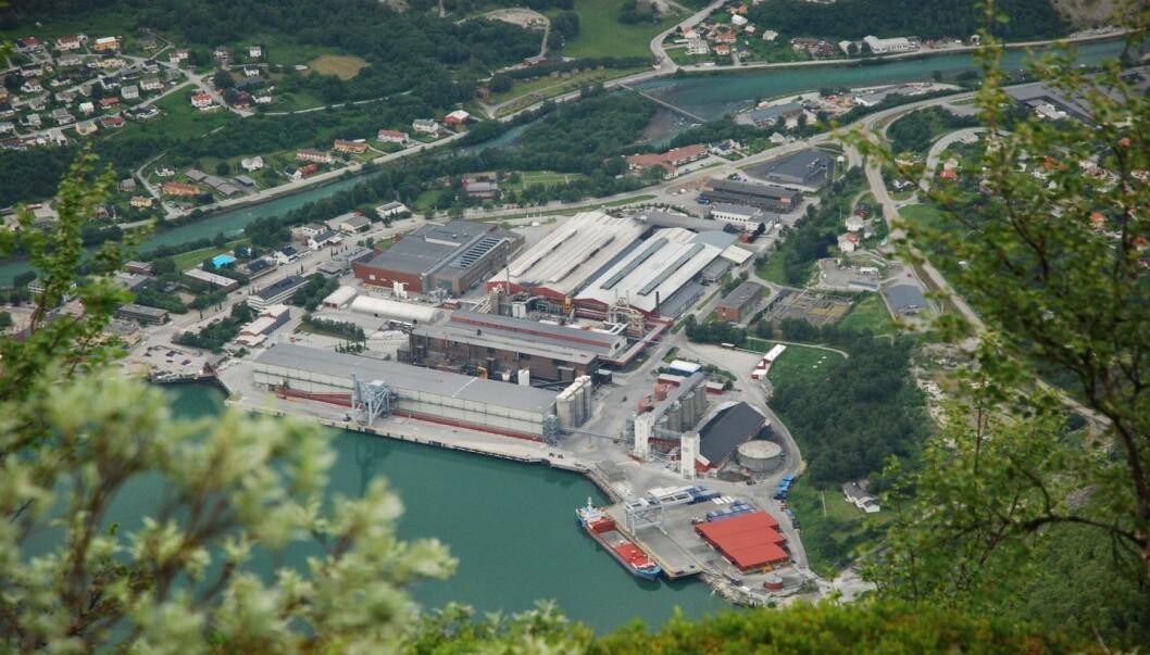 FRAMGANG:Årdal Hydro ser positivt på utviklinga i vasstanden.