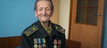 Rømte fleire gonger, skoten i magen av SS-soldatar – Oleksandr Chalich (100) var tvangsarbeidar i Årdal