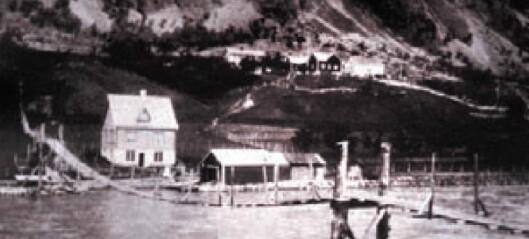 Barndom på Tangen før krigen
