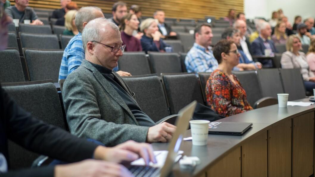KOSTBART Å GJERA INGENTING: Carlo Aall ved Vestlandsforsking i Sogndal vil koordinera forskinga ved det nye senteret for klimatilpassing i Sogndal.