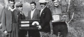 Radioar i Vikadalen under krigen