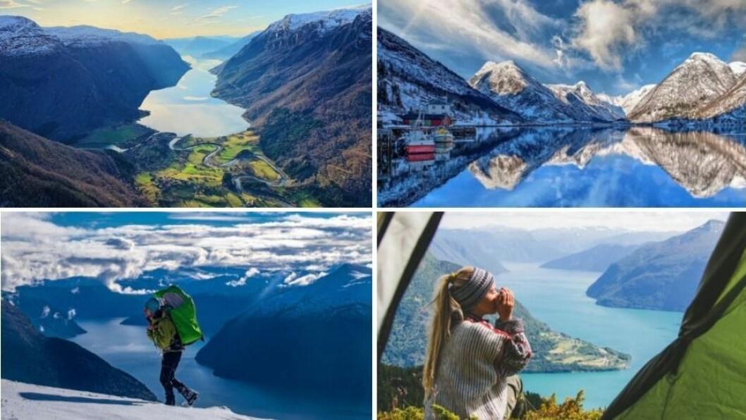 Fleire av bileta som er kåra vil vekas foto syner nydeleg natur i Indre Sogn.