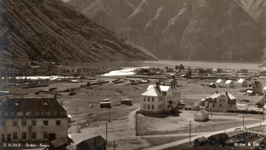 FØR I TIDA: Øvre Årdal i 1939.