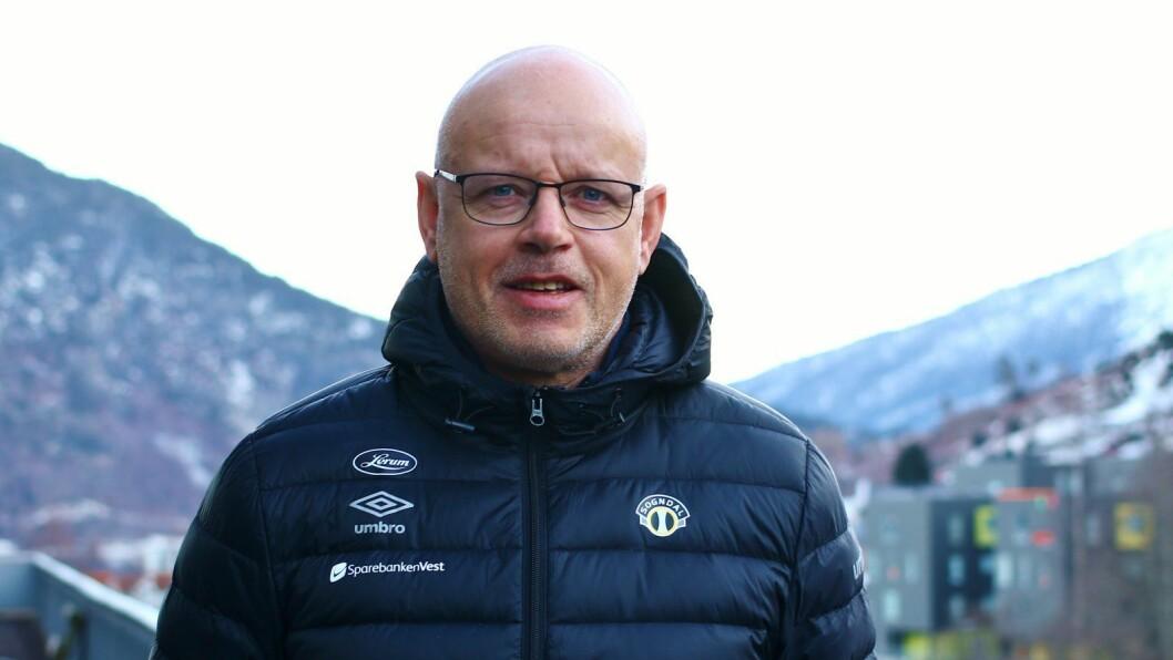 NY TRENAR: Nils Tore Krosshaug gler seg til å ta G19 og Sogndal 2 vidare som ny fotballtrenar.
