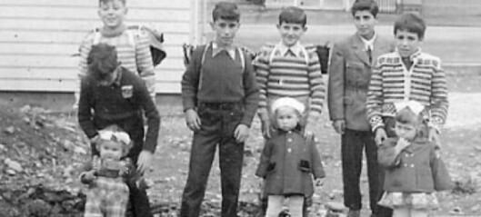 Pleiebarn i Årdal på 1950-talet