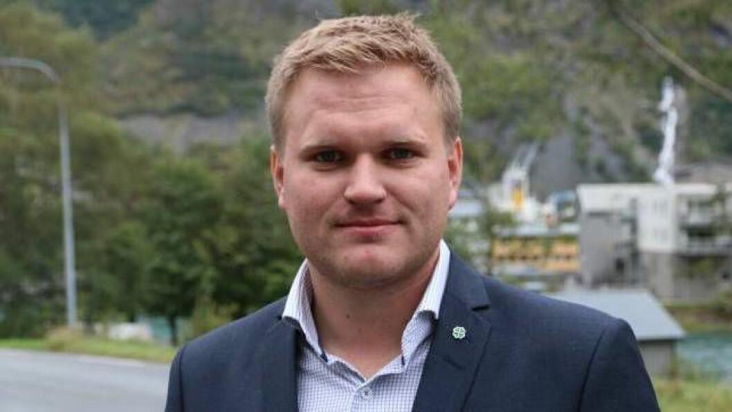 FØRSTE VEKE: Denne veka har Aleksander Øren Heen gjennomført si første veke som sjef i Lærdal Næringsutvikling (LNU). Han seier at næringslivet må satsa på nyetablering og utvikling.