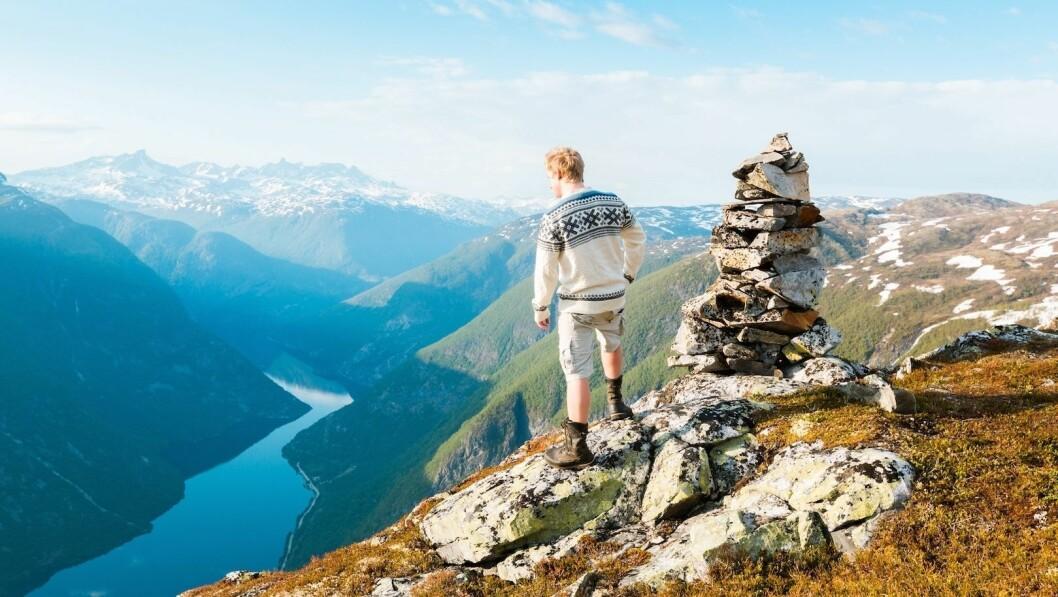 FRILUFTSLIV: I Sogn er naturen så nær at du kan nyte fjellturar både før og etter jobb i kvardagane.