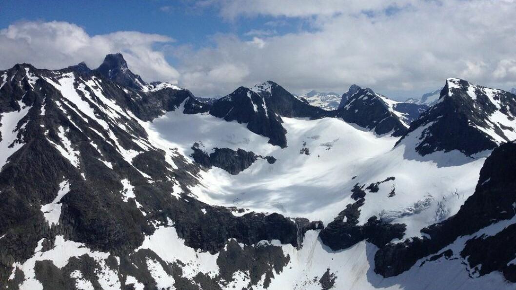 JOTUNHEIMEN: Vel mellom eit mylder av 2000 meter-toppar.