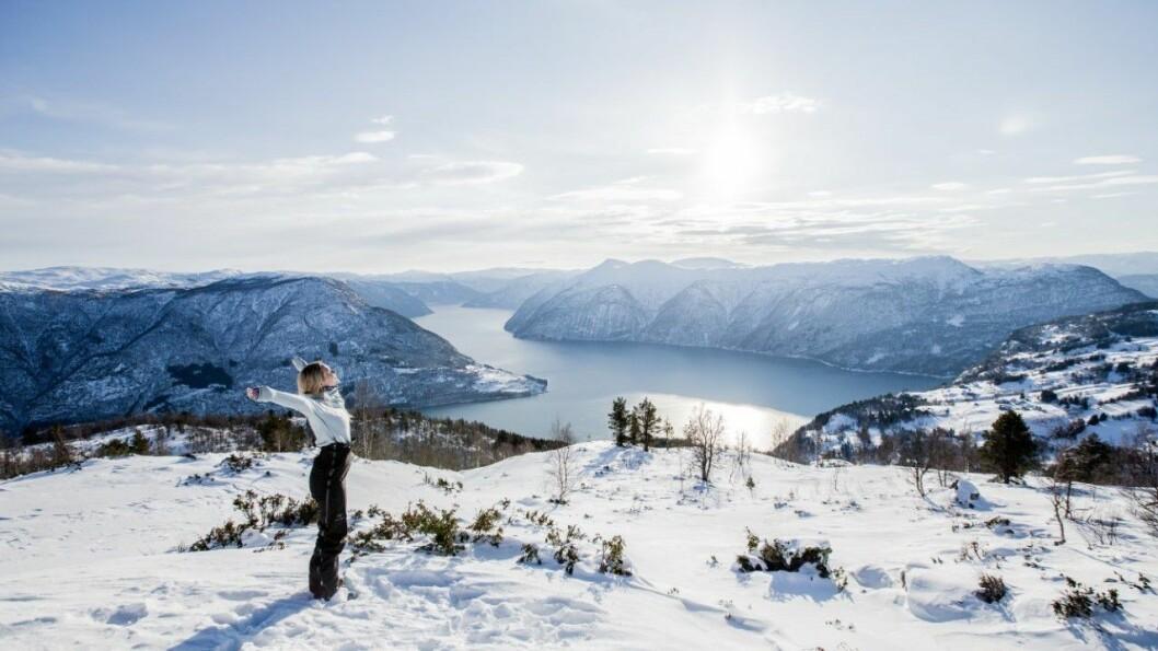 JA TIL NORGESFERIE: Det blir oppmoda om å ta årets sommarferie i Norge.