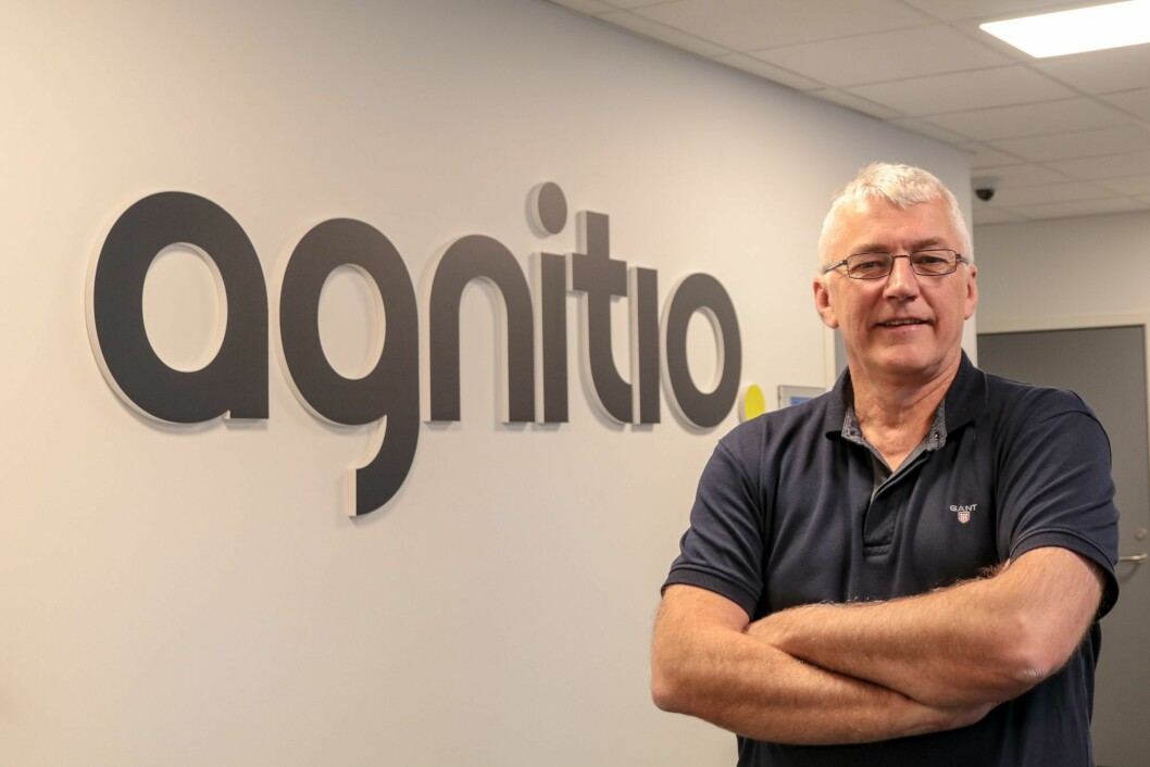 AGNITIO: – Me bidrog med teknologiutvikling, kanskje også til å tenke nytt. Me kunne òg tilføra teknologikompetanse, og stå for ein del av gjennomføringa, minnest Arne Håkon Laberg, dagleg leiar i Agnitio.
