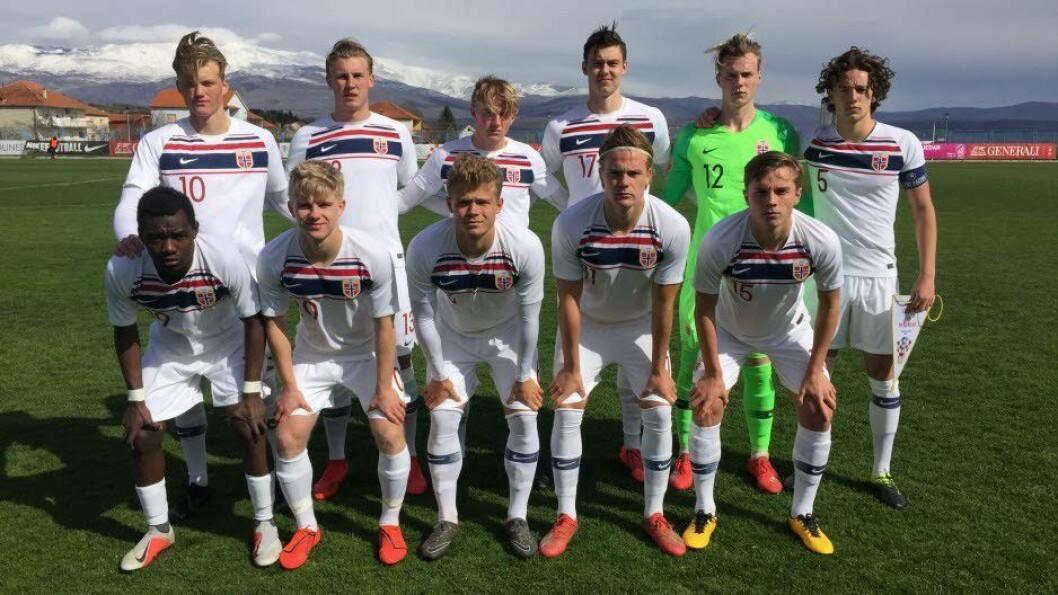 EM-klar: Johan Hove og Jonas Fredriksen har kvalifisert seg til EM med G19-landslaget.