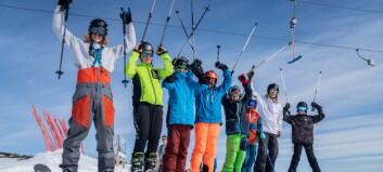 Lokal produsent lanserer ski for barn og unge