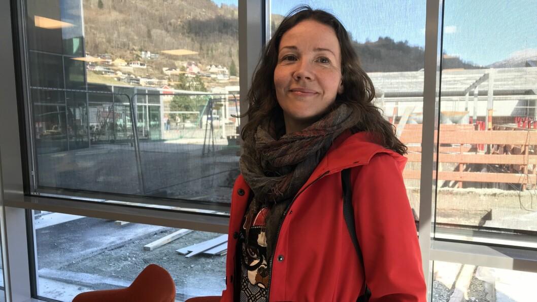 PÅ FLYTTEFOT: Sandra Opheim (uavhengig) flyttar til Sogndal, og gir seg med politikken.