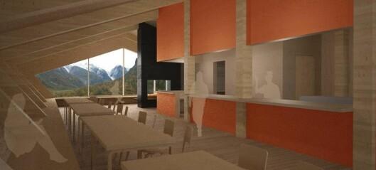 Den spektakulære hytta ved Jostedalsbreen står klar i haust: – Dei første bestillingane er komne