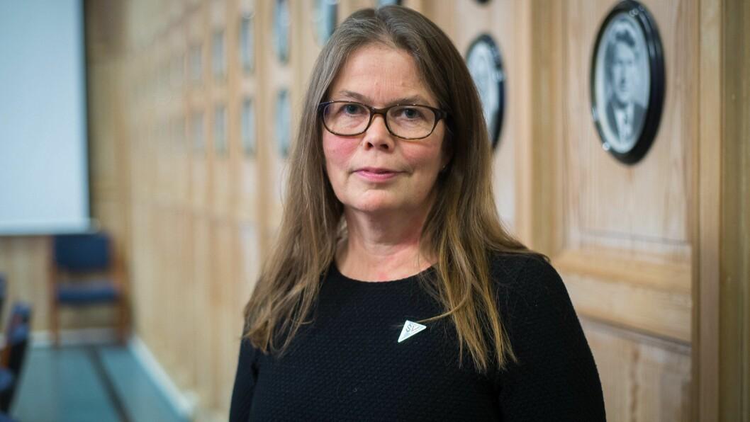 FORTVILA: Vibeke Johnsen (SV) er glad for at Sognald tar imot flyktningar frå Moria.