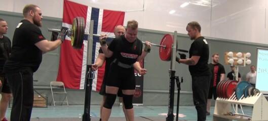 Styrkeløftarar frå Sogndal IL imponerte under Jr. NM i Bergen