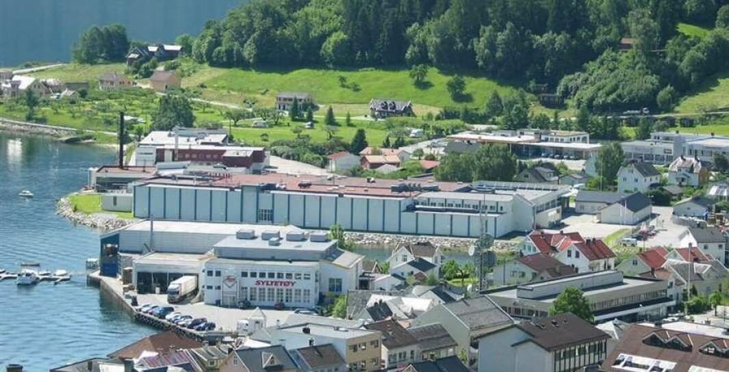 NORURA: Norura sitt slakteri i Sogndal sentrum mista vasstilførselen onsdag ettermiddag.